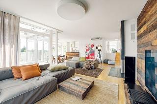 Veľkorysá plocha obývacej izby