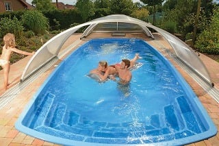 Sklolaminátový bazén