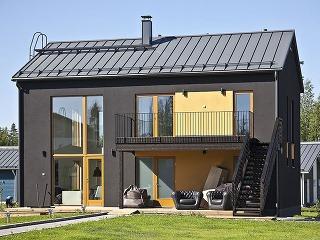 Moderný skandinávsky rodinný dom