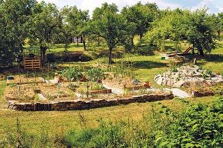 Záhrada bez driny amozoľov