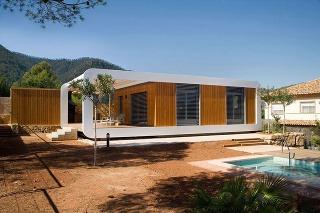 Modulový dom z dreva