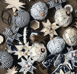 Vianočné origami. Postačí vhodný