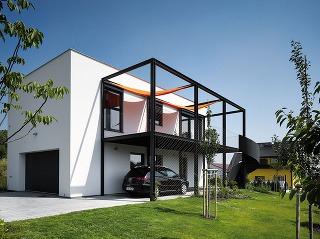 Dvojpodlažný rodinný dom sa