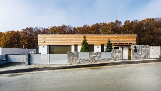 Vkusný minimalistický dizajn domu
