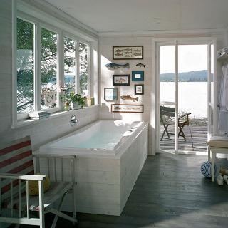 Kúpeľňa na chalupe
