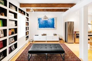 Obývačka netradične. Priestor obývačky