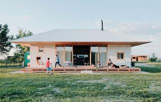 Víkendový dom pre päťčlennú