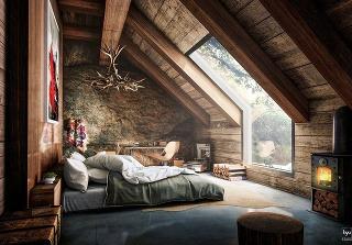 Podkrovná spálňa: 25 inšpirácií, ako sa pri zariaďovaní nedostať na šikmú plochu