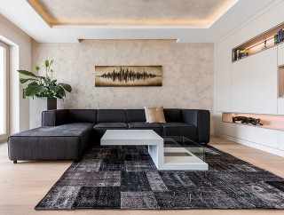 Moderný byt plný svetla