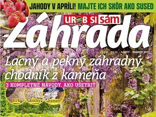 Nové číslo časopisu Záhrada