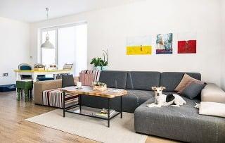 Trojizbový byt v príjemnej