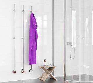 Kares Vertikálny sušiak Kares nájde svoje uplatnenie vo všetkých kúpeľniach bez ohľadu na veľkosť alebo rozloženie. Vyberte si iba počet sušiakov Kares a podľa svojich predstáv ich umiestnite do radu alebo samostatne. Kares je doplnený o dizajnové háčiky,