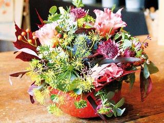 Kvetinová tekvička