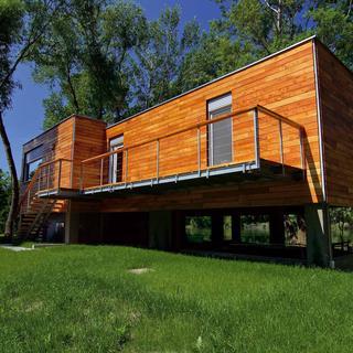 Dom, ktorý vonia drevom