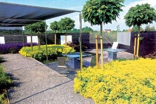 Záhradný štýl high-tech