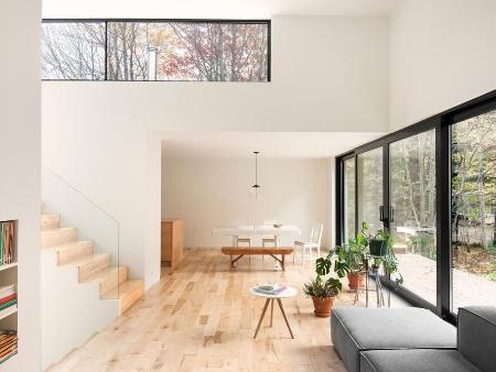 Minimalistický dom navrhnutý pre