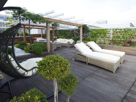 Na terase na najvyššom
