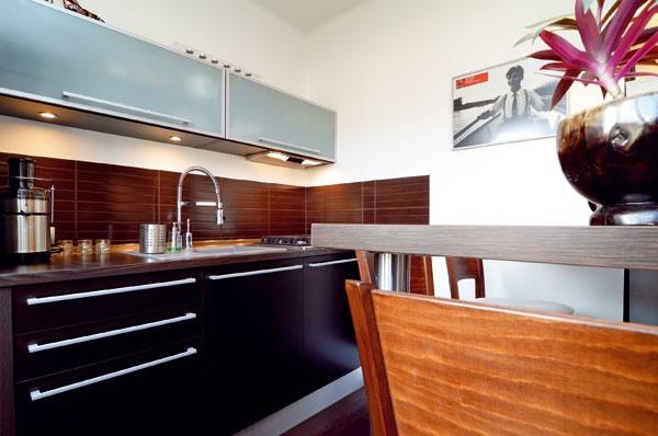 Kuchyňa ako príklad podareného