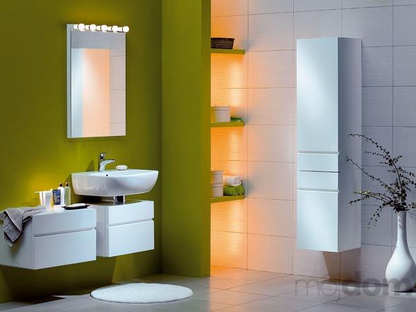Osvetlenie v kúpeľni nemusí byť
