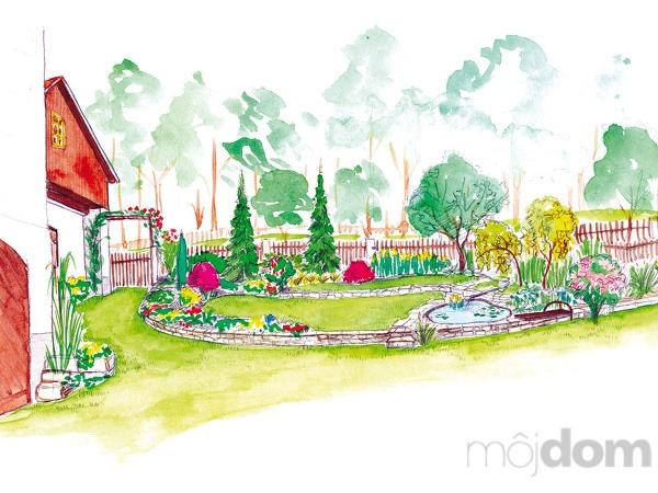 Úprava záhrady pri chalupe