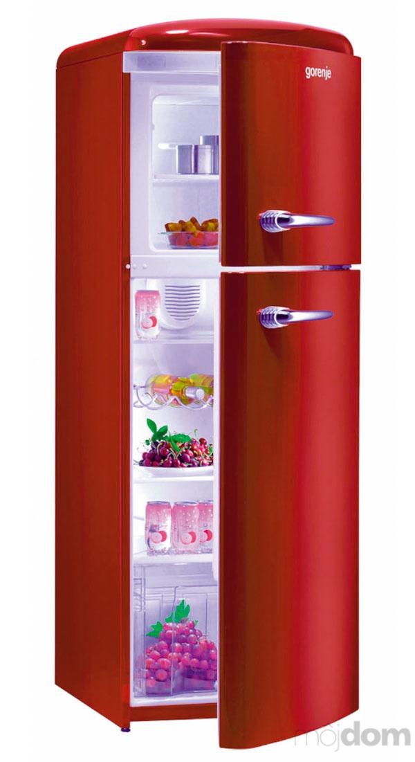 Imidžová chladnička v retro