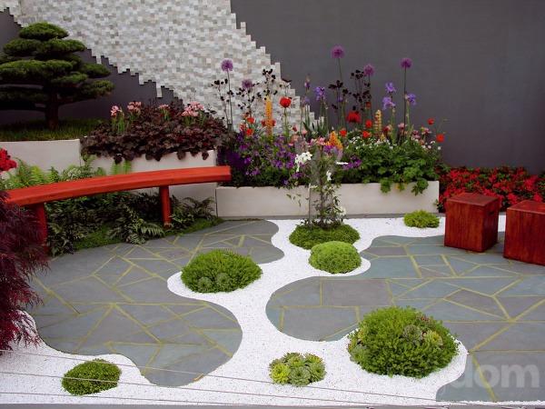 Táto moderná strešná záhrada
