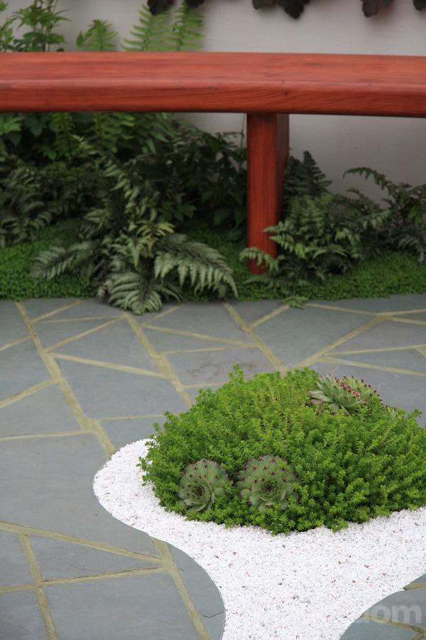 Japonská záhrada na streche