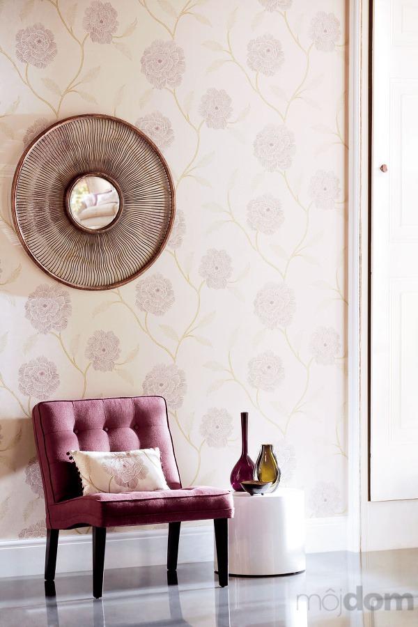 Tapeta marbree, 53 × 100 cm, cena 67,50 €/zvitok, poťah na kresle