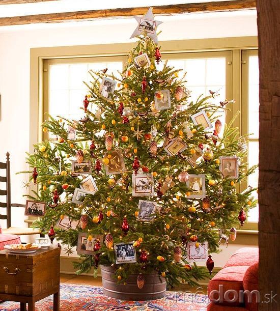 Ako ozdobit vianocny stromcek foto
