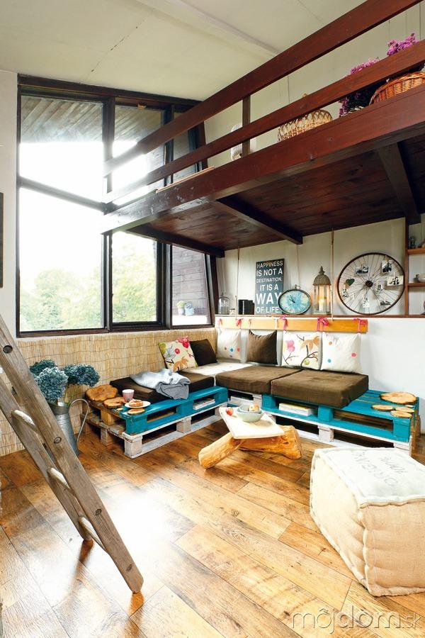 ako sme o ivili interi r zastaranej chalupy. Black Bedroom Furniture Sets. Home Design Ideas