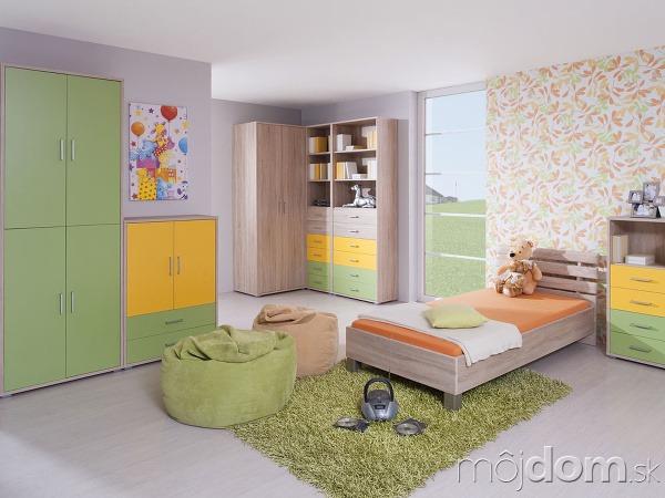Hravé detské izby -