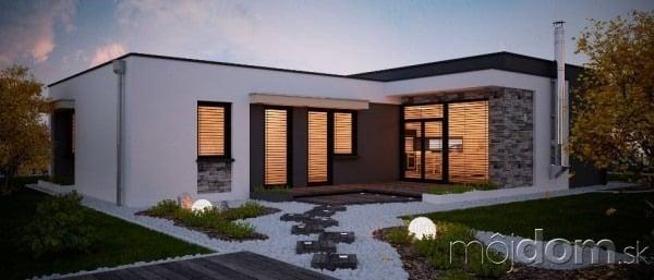 Domy s plochou strechou projekt