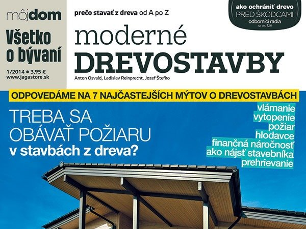 Publikácia Moderné drevostavby v