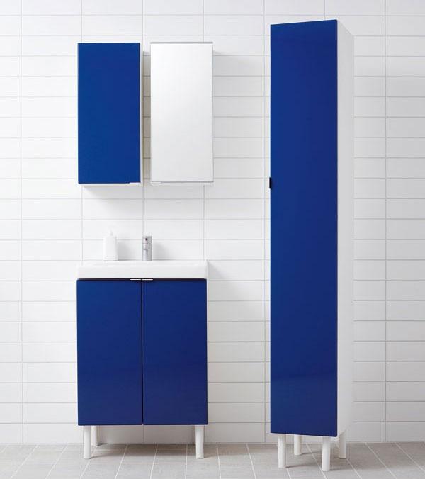 Kúpeľňový nábytok vättern lonnen z drevovláknitej dosky s