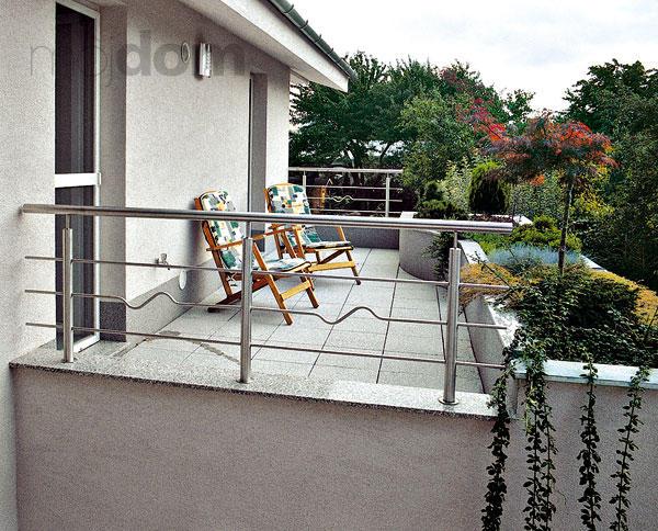 Balkón či terasa by nemali byť nočnou morou