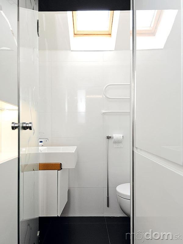 Oproti je toaleta sumývadlom.