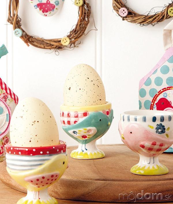 Kalíšky na vajíčka spatchworkovým