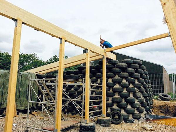 Nosná konštrukcia strechy astien