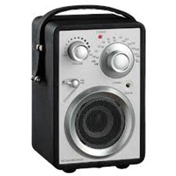 4x Rádio Scansonic