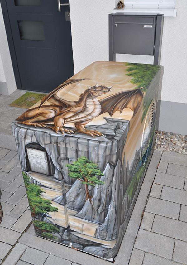 O teplo domova sa stará drak