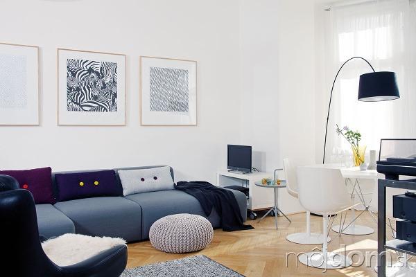 Obývačka, kde sa žije.