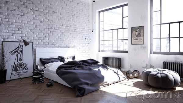 Spálňa inšpirovaná Škandináviou