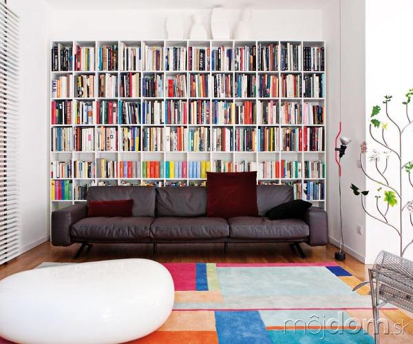 Zaujímavým spestrením obývacej izby