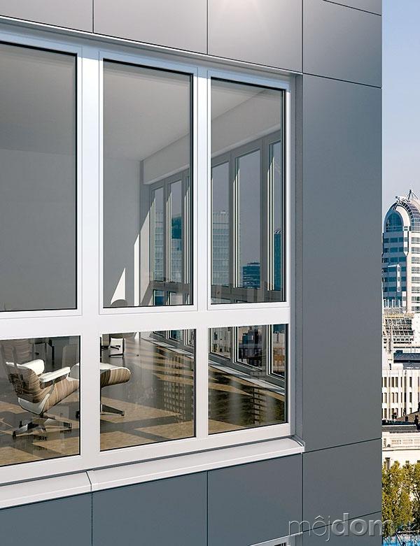 Hliníkový okenný systém Schüco