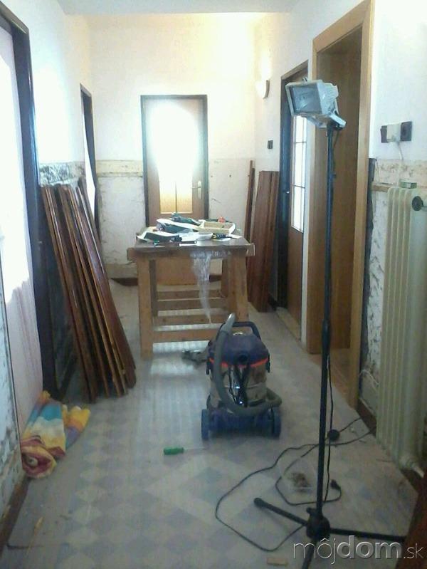 VÁŠ TIP: Rekonštrukcia chodby