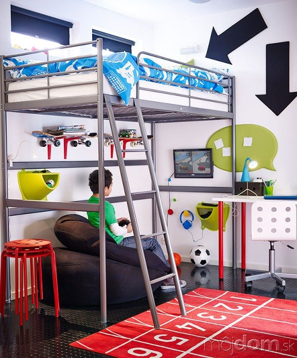 Poschodová posteľ SVÄRTA, ktorú