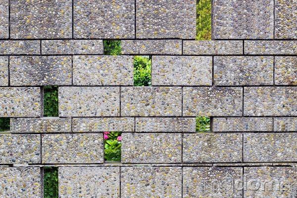 Trendové betónové múry predstavujú