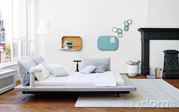 Čalúnená obruba okolo postele