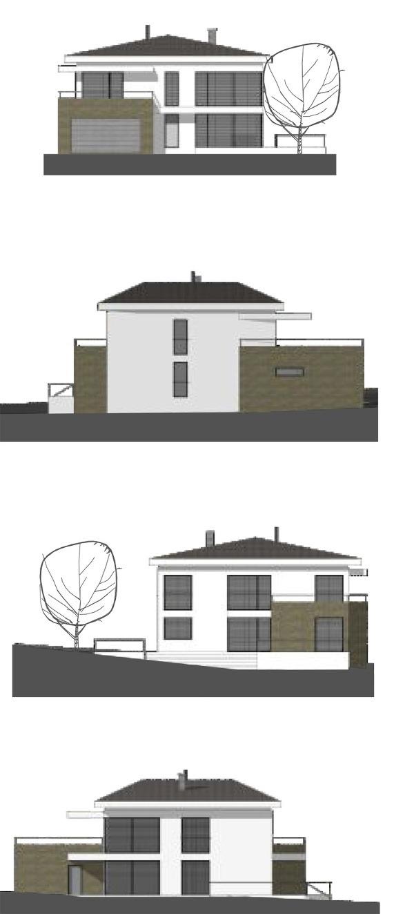 Projekt rodinného domu Nina,