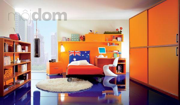 Farebne zladiť detskú izbu neznamená zariadiť pre dievčatká